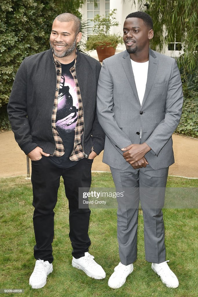 Jordan Peele and Daniel Kaluuya attend Variety's Creative Impact Awards & '10 Directors To Watch' at the 29th Annual Palm Springs Film Festival on January 3, 2018 in Palm Springs, California.