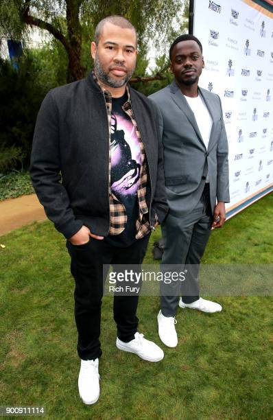 Jordan Peele and Daniel Kaluuya attend Variety's Creative Impact Awards and 10 Directors to Watch Brunch Red Carpet at the 29th Annual Palm Springs...