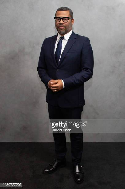 Jordan Peele arrives for the 2019 Hammer Museum Gala In The Garden at Hammer Museum on October 12 2019 in Los Angeles California