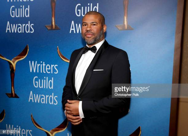 Jordan Peele attends the 2018 Writers Guild Awards L.A. Ceremony at The Beverly Hilton Hotel on February 11, 2018 in Beverly Hills, California.