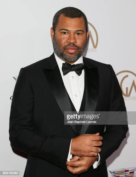 Jordan Peele attends the 29th Annual Producers Guild Awards at The Beverly Hilton Hotel on January 20 2018 in Beverly Hills California