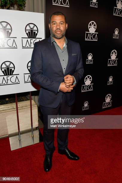 Jordan Peele attends the 43rd Annual Los Angeles Film Critics Association Awards on January 13 2018 in Los Angeles California