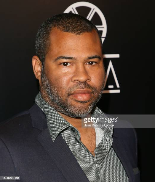 Jordan Peele attends the 43rd Annual Los Angeles Film Critics Association Awards on January 13 2018 in Hollywood California