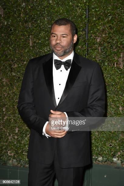 Jordan Peele attends the 49th NAACP Image Awards Arrivals at Pasadena Civic Auditorium on January 15 2018 in Pasadena California
