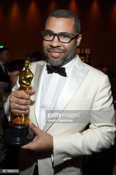 Jordan Peele attends the 90th Annual Academy Awards Governors Ball at Hollywood Highland Center on March 4 2018 in Hollywood California