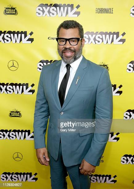 Jordan Peele attends the premiere of Us at the Paramount Theater during the 2019 SXSW Conference And Festival on March 8 2019 in Austin Texas
