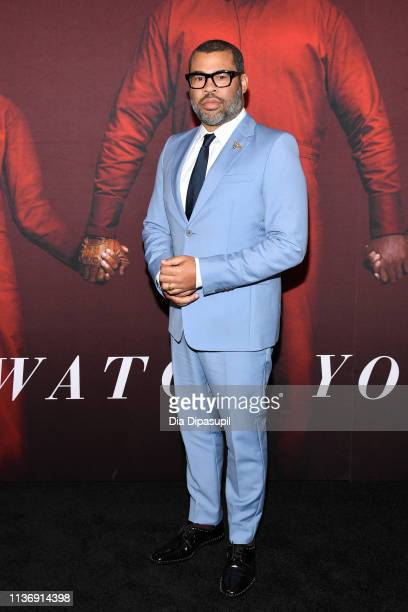 Jordan Peele attends the US New York Premiere at The Museum of Modern Art on March 19 2019 in New York City