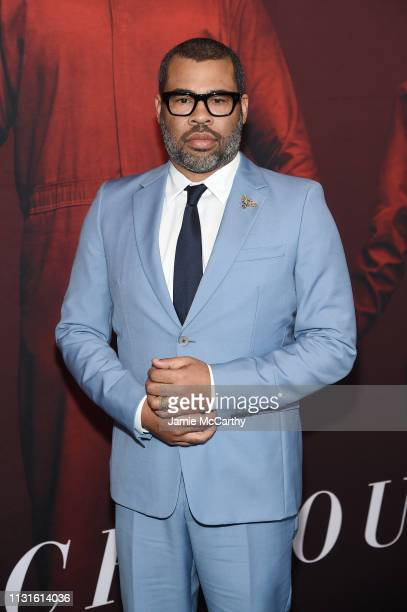 Jordan Peele attends the US premiere at Museum of Modern Art on March 19 2019 in New York City
