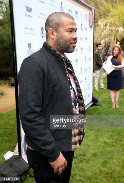 Jordan Peele attends Variety's Creative Impact Awards and 10 Directors to Watch Brunch Red Carpet at the 29th Annual Palm Springs International Film...