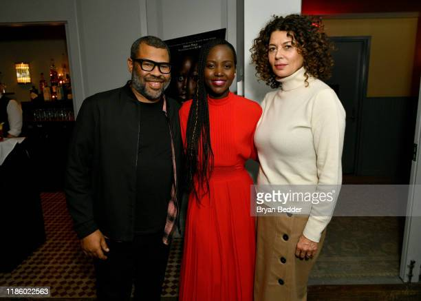 Jordan Peele Lupita Nyong'o and Donna Langley attend a special screening of 'Us' presented by Universal Pictures on November 06 2019 in New York City