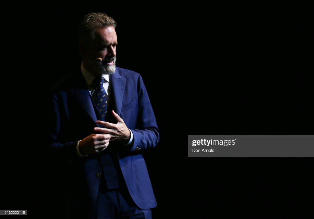 Jordan Peterson 12 Rules for Life Speaking Tour - Sydney : News Photo