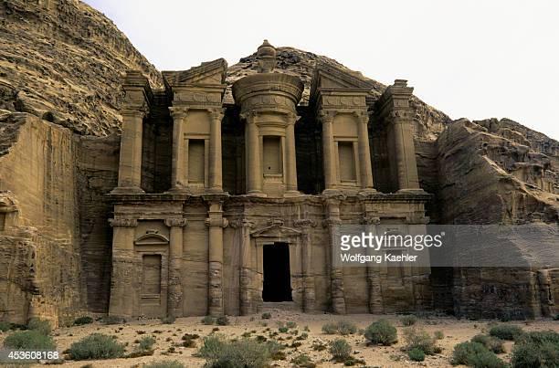 Jordan Petra Al Deir Monastery Built 1st Century Ad