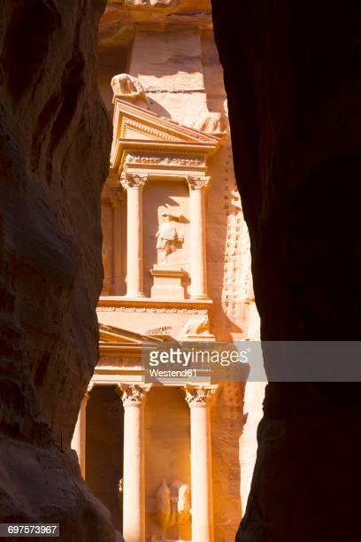 Jordan, Petra, part of Al Khazneh