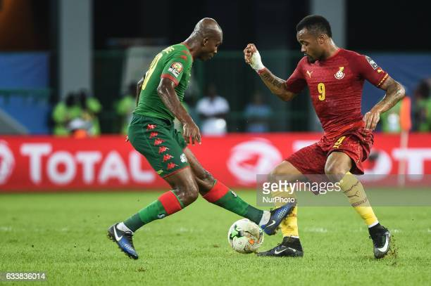 Jordan Pierre Ayew during the 2017 Africa Cup of Nations 3rd place match in Port Gentile Gabon on 4/2/2017