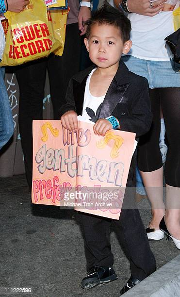 Jordan Playboy fan during The Girls Next Door InStore DVD and Magazine Autograph Signing at Tower Records on Sunset in West Hollywood California...