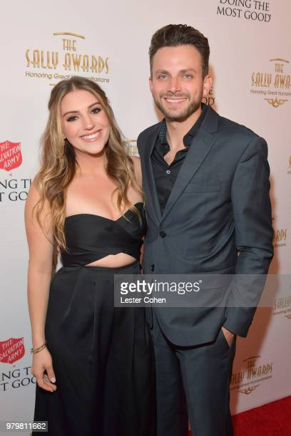 Jordan Pruitt and Brian Fuente attend the 2018 Sally Awards presented by The Salvation Army at the Beverly Wilshire Four Seasons Hotel on June 20...