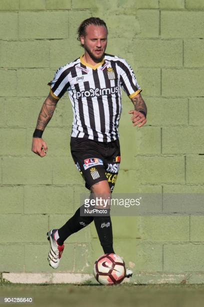 Jordan Remacle during the friendly match between Royal Charleroi SC vsYanbian Funde FC at Pinatar Arena Murcia SPAIN 10th January of 2018
