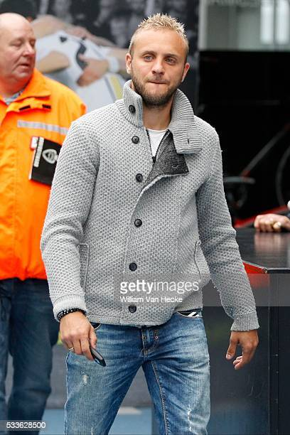 Jordan Remacle of Sporting Lokeren pictured the day after the heart failure of Gregory Mertens during the match between KRC Genk and Sporting Lokeren...