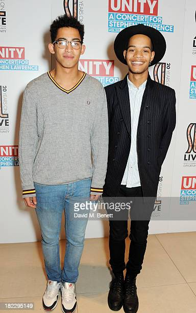 Jordan 'Rizzle' Stephens and Harley 'Sylvester' AlexanderSule of Rizzle Kicks attend 'Unity A Concert For Stephen Lawrence' in aid of The Stephen...