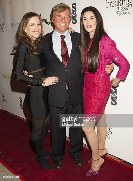Jordan Roberts Leigh Steinberg and Barbara Lazaroff attends White Rabbit Los Angeles Premiere A Bullying Prevention Initiative at Laemmle's Music...