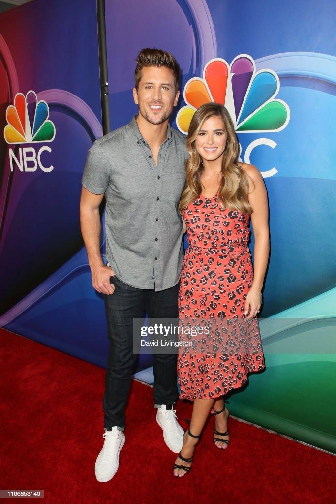 2019 TCA NBC Press Tour Carpet : News Photo