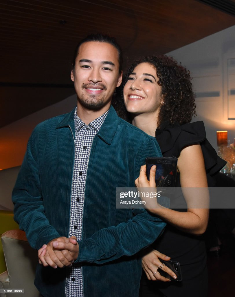 Jordan Rodrigues and Marielle Scott attend the Film Independent hosts Directors Close-Up Screening of 'Lady Bird' at Landmark Theatre on February 7, 2018 in Los Angeles, California.