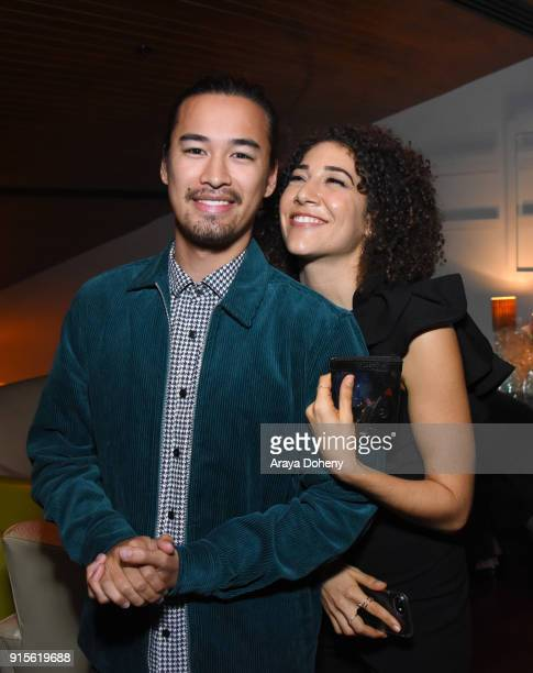 Jordan Rodrigues and Marielle Scott attend the Film Independent hosts Directors CloseUp Screening of 'Lady Bird' at Landmark Theatre on February 7...