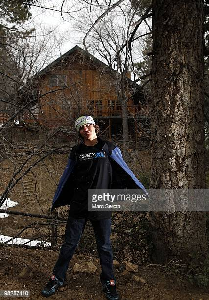 Jordan Romero poses for a portrait at his home in Big Bear Lake California on April 6 2010 Jordan Romero is youngest American to have climbed 5 of...