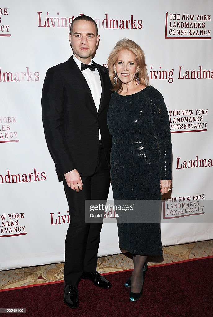 Jordan Roth and Daryl Roth attend the 21st Annual Living Landmarks Ceremony at The Plaza Hotel on November 6, 2014 in New York City.