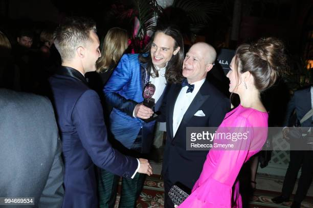 Jordan Roth and Richie Jackson attend the Tony Awards Gala at the Plaza on June 10 2018 in New York New York