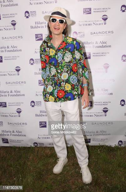 Jordan Roth at the East Hampton Library's 15th Annual Authors Night Benefit on August 10 2019 in Amagansett New York
