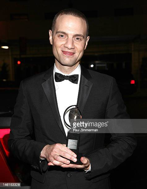 Jordan Roth attends a party for the cast and crew of Clybourne Park following the 66th annual Tony awards at Whiskey Park on June 10 2012 in New York...
