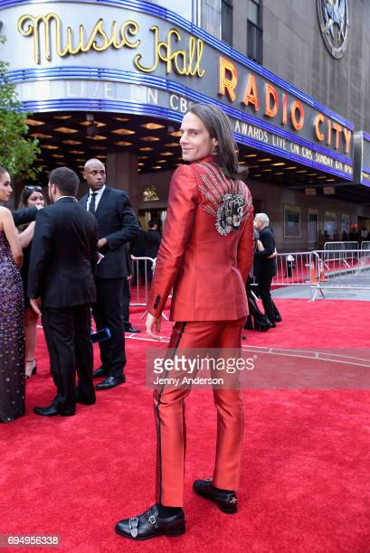 Jordan Roth attends the 2017 Tony Awards at Radio City Music Hall on June 11 2017 in New York City