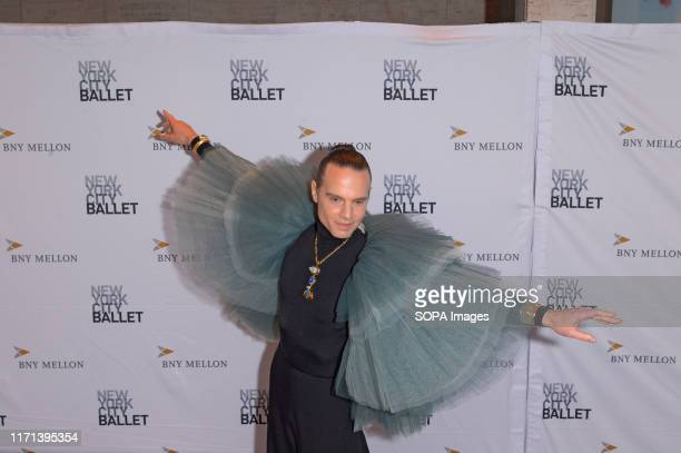 Jordan Roth attends the 8th Annual New York City Ballet Fall Fashion Gala at David H Koch Theater Lincoln Center