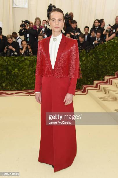 Jordan Roth attends the Heavenly Bodies Fashion The Catholic Imagination Costume Institute Gala at The Metropolitan Museum of Art on May 7 2018 in...