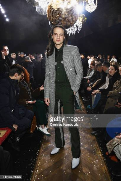 Jordan Roth attends the Michael Kors Collection Fall 2019 Runway Show at Cipriani Wall Street on February 13 2019 in New York City