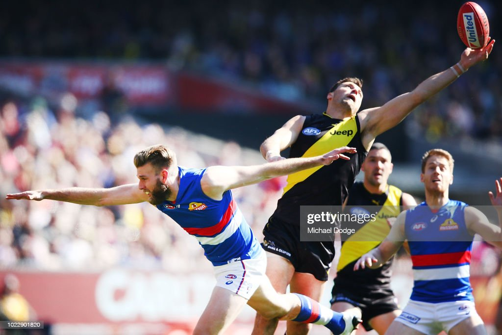 AFL Rd 23 - Richmond v Western Bulldogs : News Photo