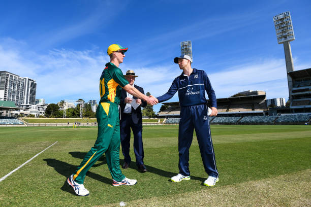AUS: Marsh One Day Cup - TAS v VIC