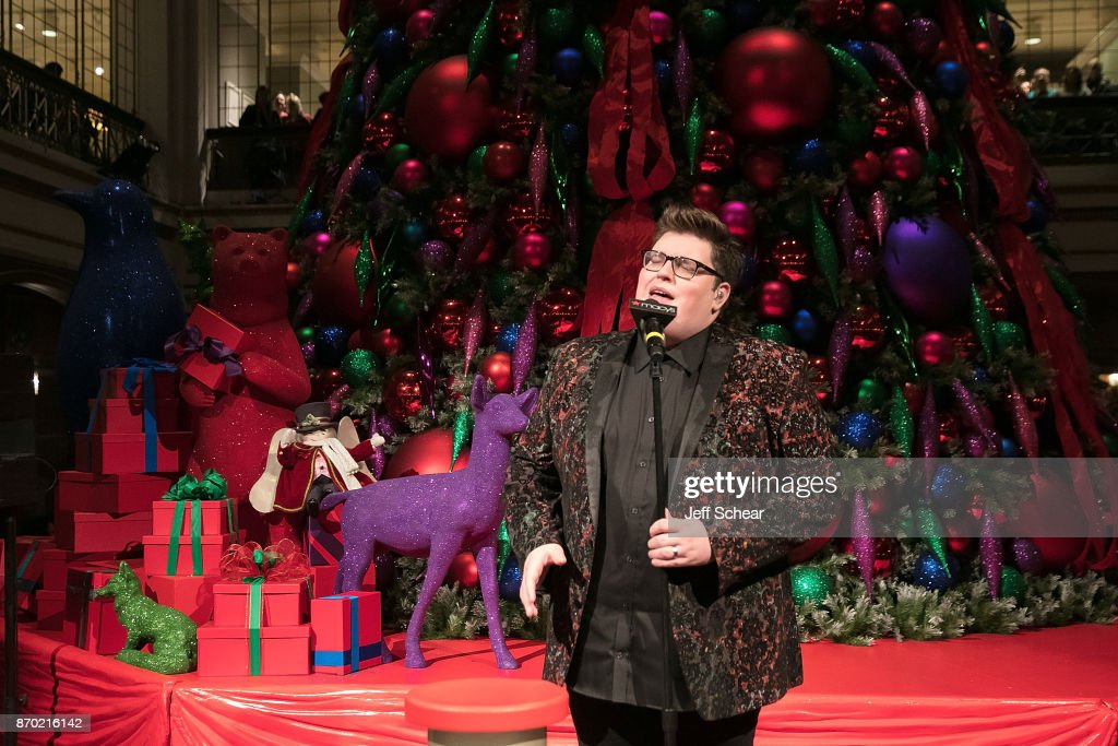 Jordan Smith performs at Macyu0027s Celebrates 110th Annual Great Tree Lighting With Special Guest Jordan Smith & Macyu0027s Celebrates 110th Annual Great Tree Lighting With Special ... azcodes.com