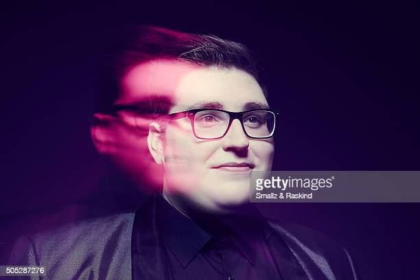 Jordan Smith poses for a portrait at the 2016 People's Choice Awards at the Microsoft Theater on January 6 2016 in Los Angeles California