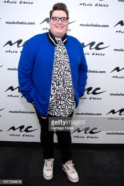 Jordan Smith visits Music Choice on August 15 2018 in New York City