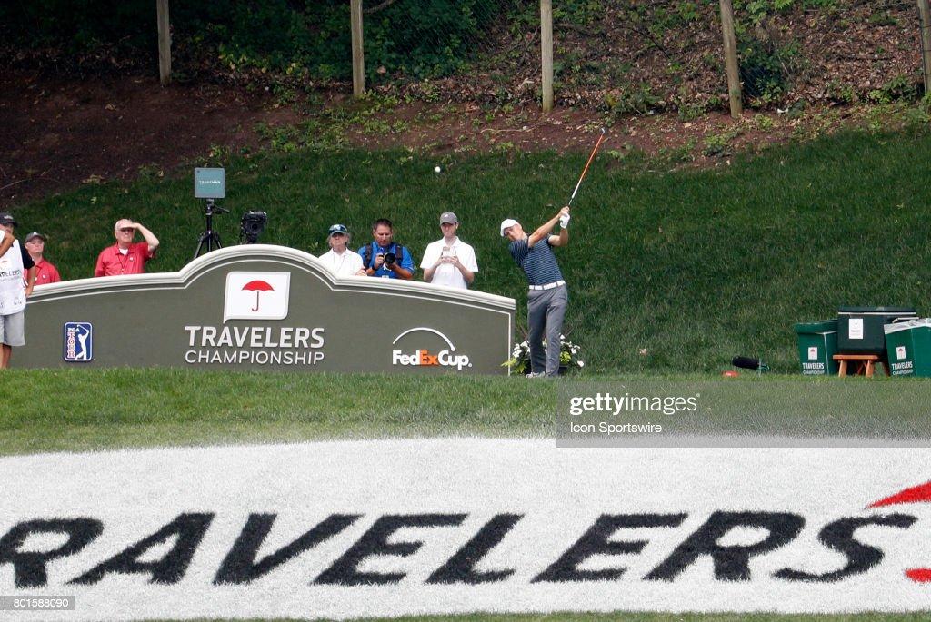 GOLF: JUN 25 PGA - Travelers Championship - Final Round : ニュース写真