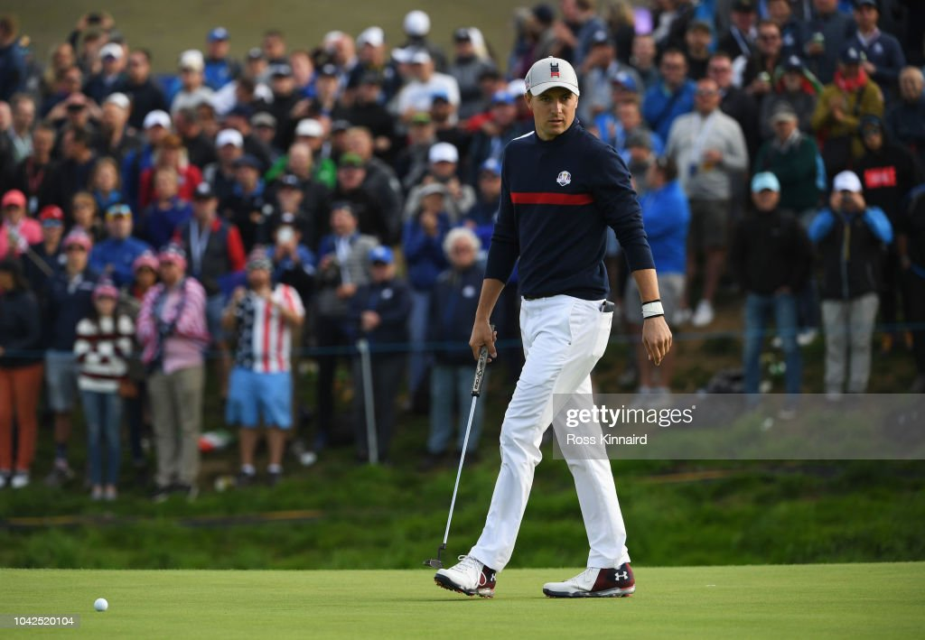 2018 Ryder Cup - Afternoon Foursome Matches : News Photo