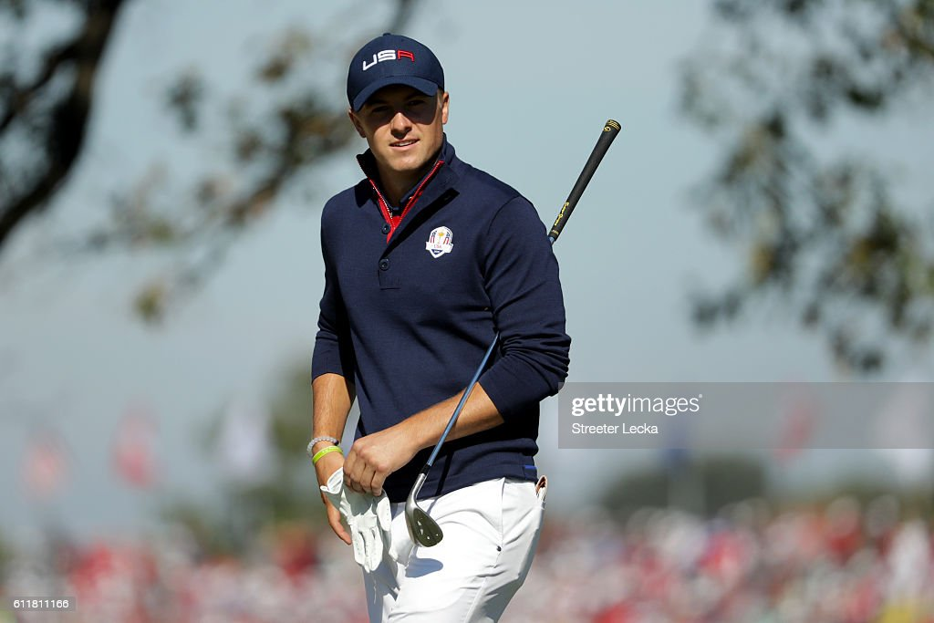 2016 Ryder Cup - Morning Foursome Matches : News Photo