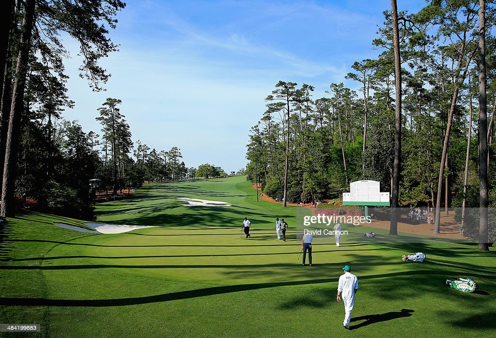 The Masters - Round Two : News Photo
