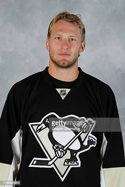 Jordan Staal of the Pittsburgh Penguins poses for his official headshot of the 201112 season on September 16 2011 at the Consol Energy Center in...