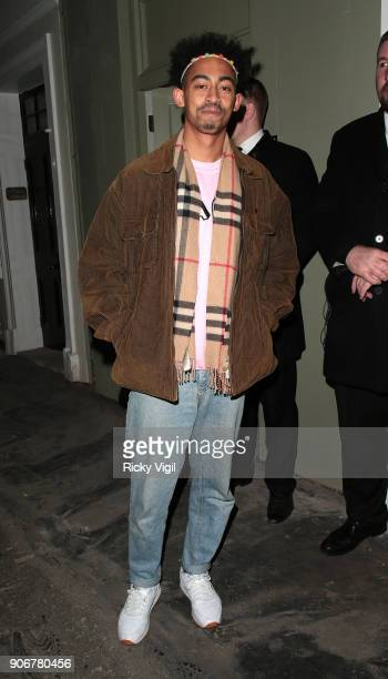 Jordan Stephens attends Soho House VIP relaunch party on January 18 2018 in London England