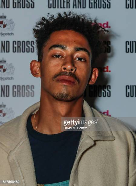 Jordan Stephens attends the Cutler and Gross London Fashion Week Party in collaboration with Wonderland Magazine at The Scotch of St James on...