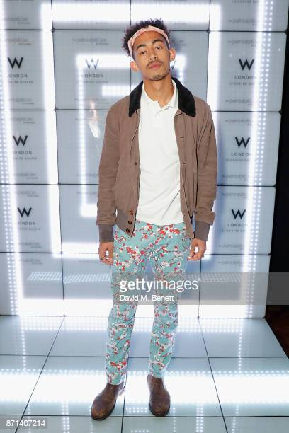 Jordan Stephens attends the official launch of The Perception at The W Hotel on November 7 2017 in London England