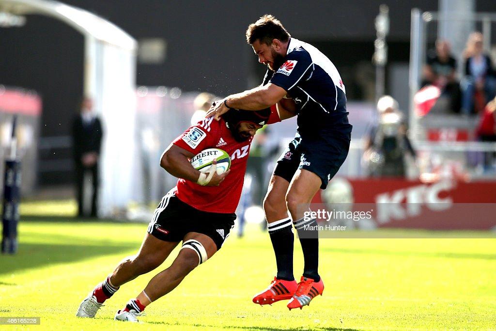 Super Rugby Rd 5 - Crusaders v Lions : ニュース写真